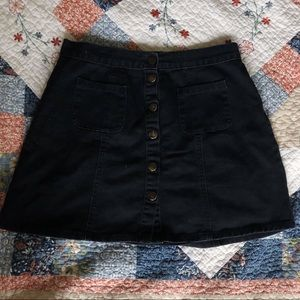 Urban Outfitters Button-Up Skirt